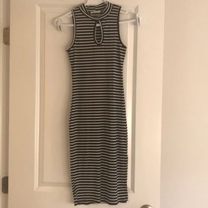 Black & White • Stripped Dress